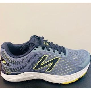 New Balance Men's 680v6 (2E) Wide Fit Road Running Shoes- Grey