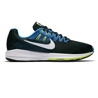 Men's Nike Air Zoom Structure 20-Black/Photo Blue-Ghost Green-White