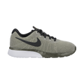 Nike Women's Tanjun Racer Road Athleisure Shoes-Cargo Khaki/Black-Light Bone