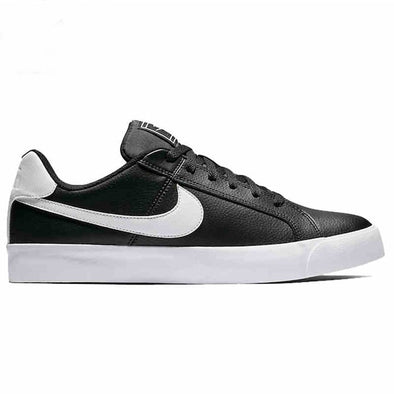 Nike Men's Court Royale AC Road Casual Shoes-Black/White