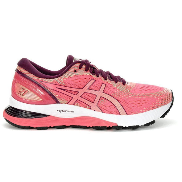 Women's Gel-Nimbus 21 Road Running Shoes-Pink Cameo/BakedPink