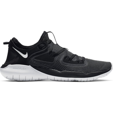 Nike Women's Flex RN 2019 Road Running Shoes-Black/White-Anthracite
