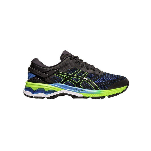 ASICS Men's Gel-Kayano 26 Road Running Shoes-Black/Electric Blue