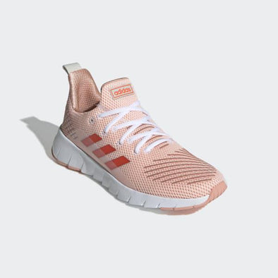 Adidas Women's AsweeGo Road Running Shoes-Clear Orange/Solar Red/Raw White