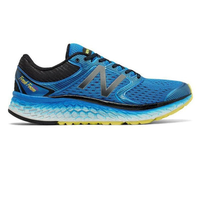 Men's New Balance Fresh Foam 1080 D v7-blue/white/lemon