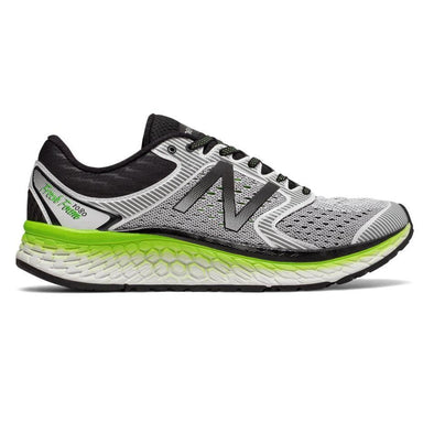 MEN'S NEW BALANCE FRESH FOAM 1080 V7-White/lemon/black