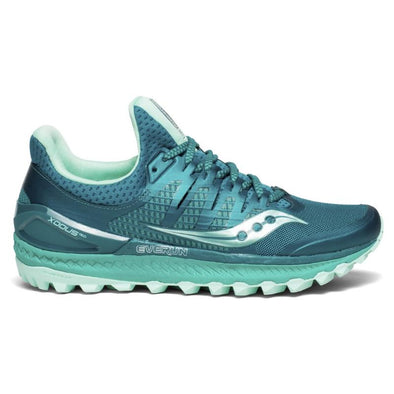 Women's Saucony Xodus ISO 3 Trail-Green