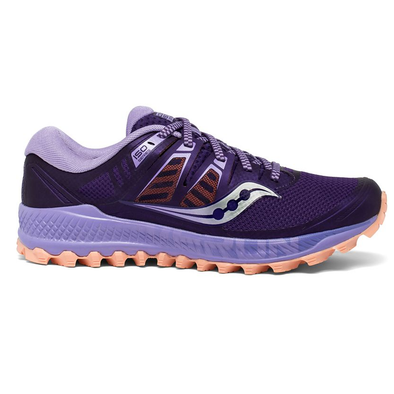 Women's Saucony Peregrine ISO Trail-Purple, Peach