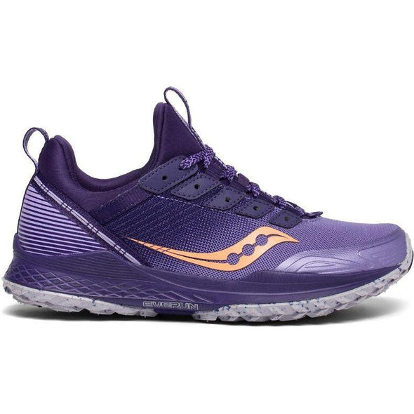 Saucony Women's Mad River TR Trail Running Shoes-Purple/Peach