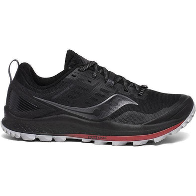 MEN'S SAUCONY PEREGRINE 10 - BLACK/RED