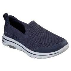 Skechers Men's Go Walk 5 Road Walking Shoes-Navy