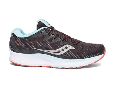 WOMEN'S SAUCONY RIDE ISO 2 - BROWN/CORAL