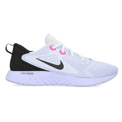 Nike Women's Legend React Road Running Shoes-Football Grey/Black-Palest Purple