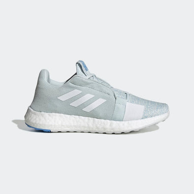 Adidas Women's SenseBoost Go Road Running Shoes-Blue Tint/Cloud White/Real Blue