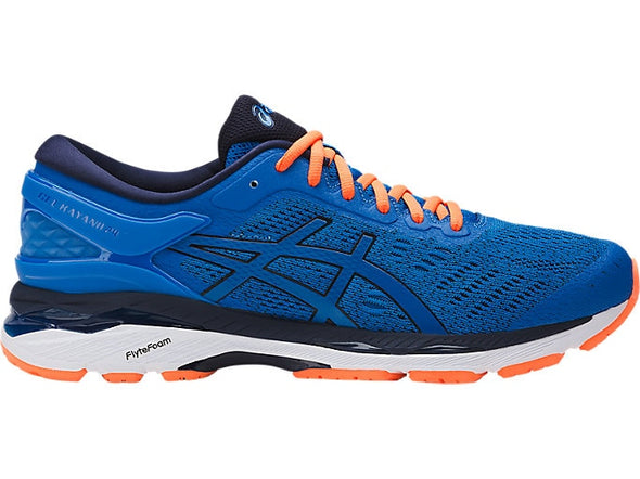 ASICS Men's Gel-Kayano 24 Road Running Shoes-Directoire Blue/Hot Orange