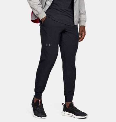 Under Armour Men's Flex Woven Joggers-Black