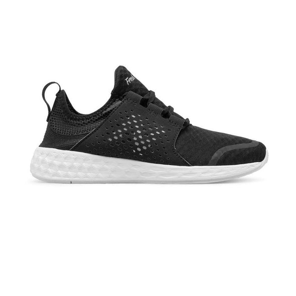 WOMEN'S NEW BALANCE FRESH FOAM CRUZ-BLACK/WHITE