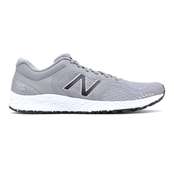 New Balance Men's Arishi v2 (2E) Wide Fit Road Running Shoes-Grey/Silver