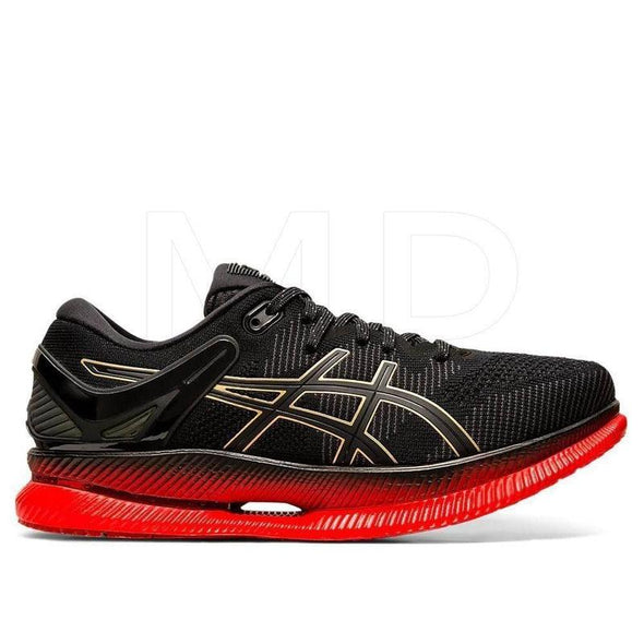 ASICS Men's MetaRide Mugen Edition Road Running Shoes-Black/Classic Red