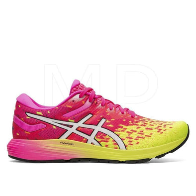 ASICS Woman's Dynaflyte 4 Road Running Shoes-Hot Pink/White