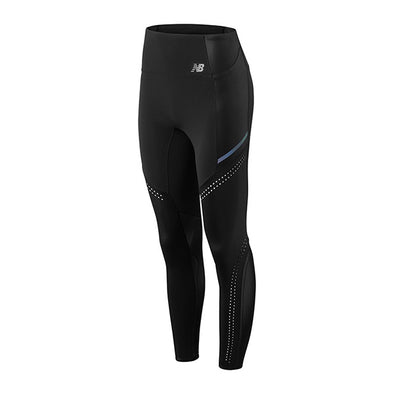 New Balance Women's Q Speed Tight - Black