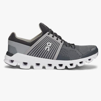 ON Men's Cloudswift Road Running Shoes-Slate/Rock