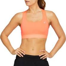Asics Women's Bra - Flash Coral