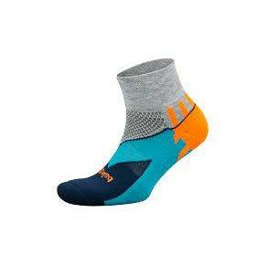 Balega Enduro Qtr -Orange/Grey L