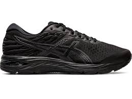 Men's Gel-Cumulus 21 Road Running Shoes- Black