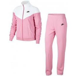 Nike Women's Track Suit-Pink/White