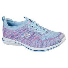 Skechers Women's City Pro Road Walking Shoes-LightBluePink