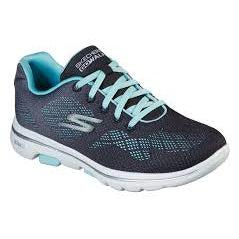 Skechers Women's Go Walk 5 Road Walking Shoes-BlackAqua