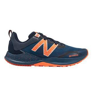 New Balance Men's Nitrel V4 Trail Running Shoes-Navy