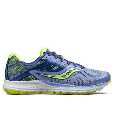 Women's Saucony Ride 10-Purple/Blue/Citron