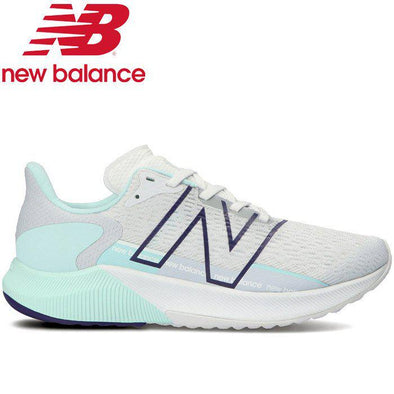 New Balance Women's FuelCell Propel 2 'B'' Wide Fit Road Running Shoes- White/Light Grey
