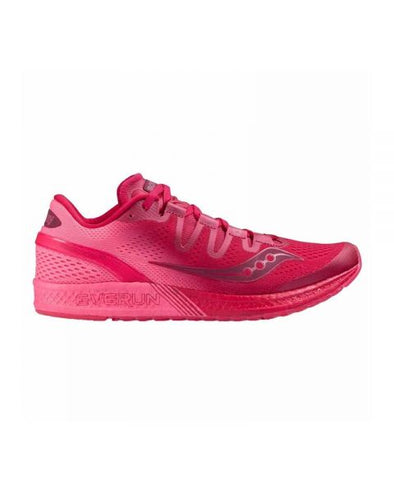 Women's Saucony Freedom ISO-berry/pink