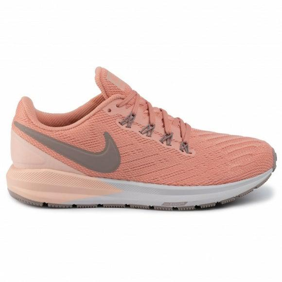 Nike Women's Zoom Structure 22 Road Running Shoes-Pink Quartz/Pumice/Washed Coral