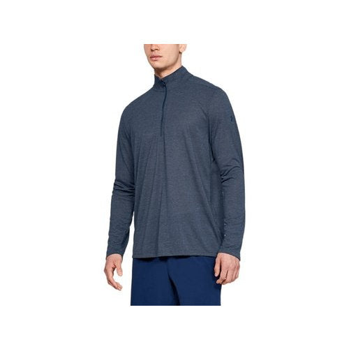 Under Armour Men's Threadborne 1/2 Zip-Navy Blue