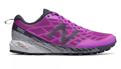 New Balance Women's Summit Unknown Trail Running Shoes-Purple/Light Grey