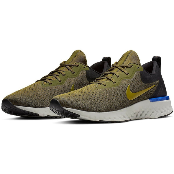 Nike Men's Odyssey React Road Running Shoes-Olive Flak/Peat Moss-Black