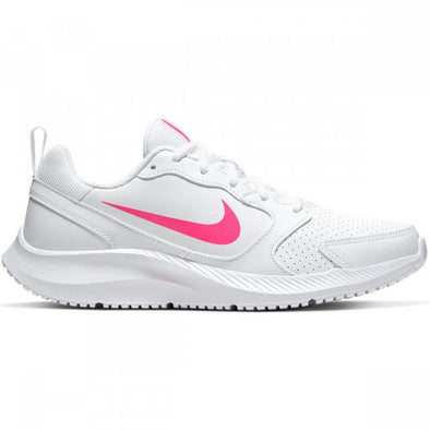 Nike Women's Todos Road Athleisure Shoes-White/Hyper Pink
