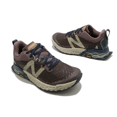 New Balance Women's Hierro 6 'D'' Wide Fit Trail Running Shoes-Brown