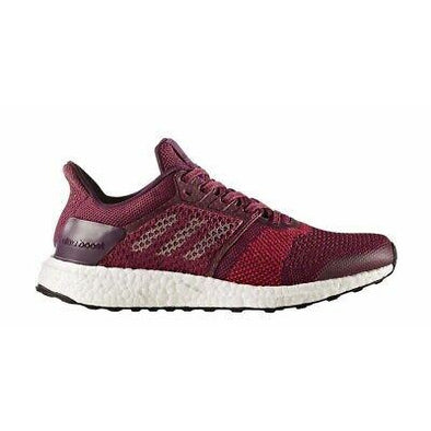 Adidas Women's UltraBoost ST Road Running Shoes-Mystery Ruby/Night Met/Red Night