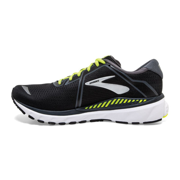 Brooks Men's Adrenaline GTS 20 Road Running Shoes-Black
