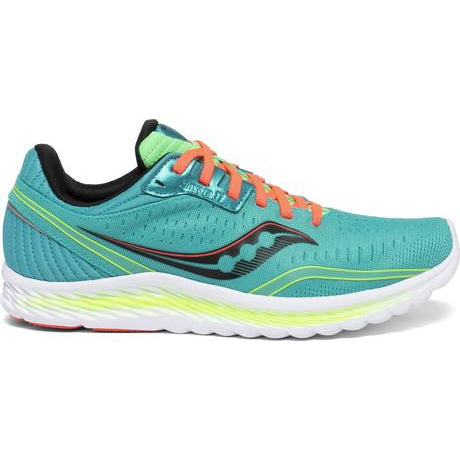 Saucony Women's Kinvara 11 Road Running Shoes-Blue Mutant