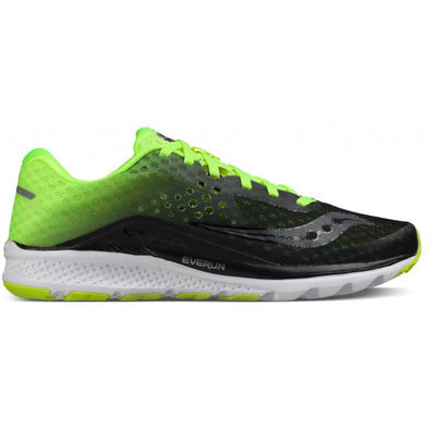 Saucony Kinvara 8 Mens Running Shoes - Black/Citron