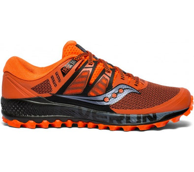 Men's Saucony Peregrine ISO-Orange/Black