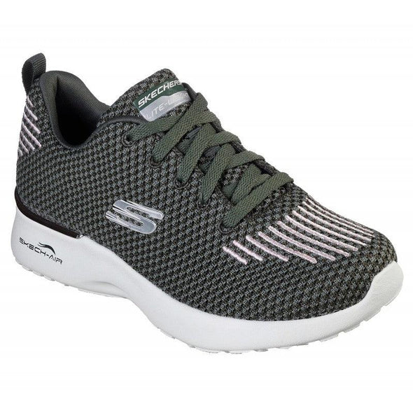 Skechers Women's Skech-Air Dynamight Road Athleisure Shoes-Black/Multi