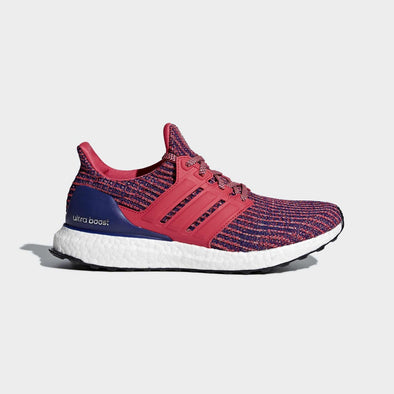 Adidas Women's UltraBoost Road Running Shoes-Real Coral/Real Purple