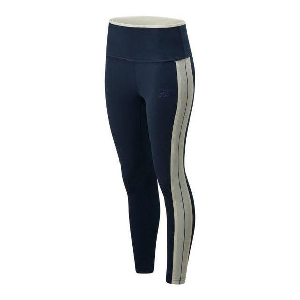 New Balance Women's Deter Tight - Navy Blue